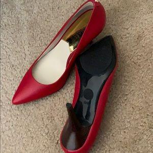 Michael Kors Shoes - BRAND NEW MICHAEL KORS heels. Red. Size 8